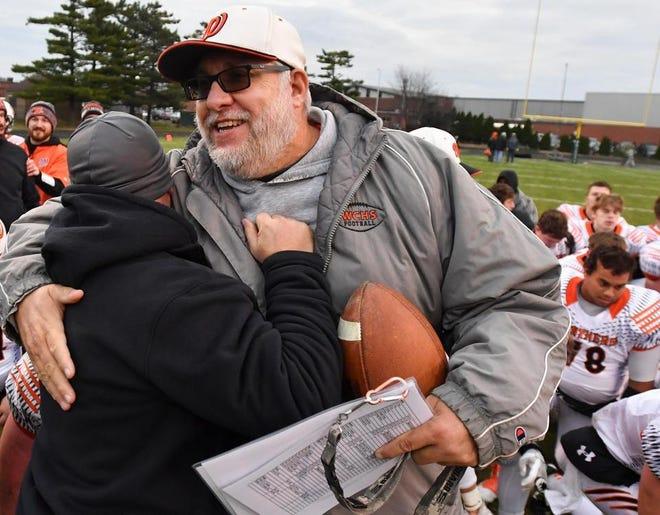 Washington Community High School football coach Darrell Crouch.