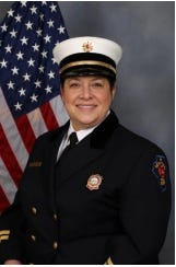 Rockford first responders Sergeant Joseph Danforth and Division Chief Michele Pankow were recently selected as American Red Cross heroes. Pictured: Michele Pankow.