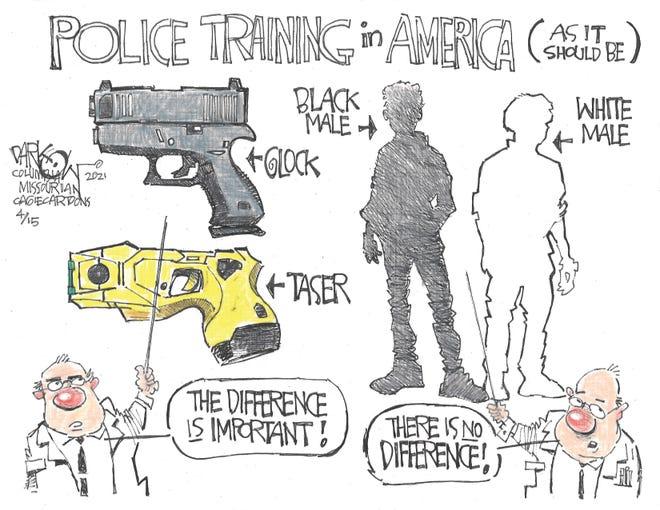 Today's editorial cartoon (April 16, 2021)