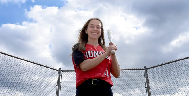 Monroe's Ellie Sieler brings a 42-game hitting streak into her senior season. The 2019 Monroe County Region Softball Player of the Year will play next season at The University of Michigan.
