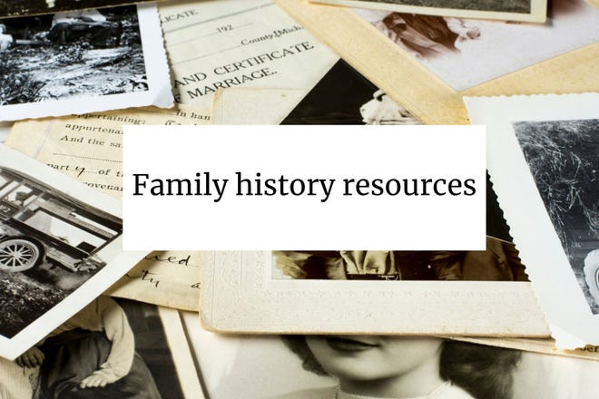 Family history resources