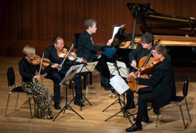 """Worcester Chamber Music Society will premier its upcoming """"Horizons"""" concert, recorded from the stage of Mechanics Hall in Worcester, at 4 p.m. April 25."""