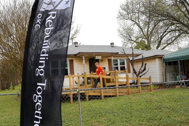 Rebuilding Together Oklahoma City provides home repair to the needy at no cost.