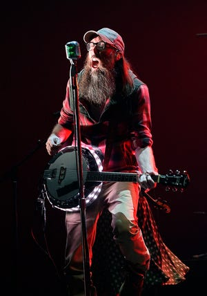 David Crowder, of Crowder, performs Oct. 13, 2015, during the Dove Awards in Nashville, Tenn. He will be the headliner of Winter Jam, which makes a stop in OKC on April 23.