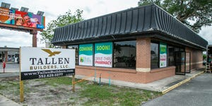 The former Wendy's building at 1536 S. Pine Ave. in Ocala will become a Heart of Florida Health Center drive-thru pharmacy. Tallen Builders LLC has been contracted to do the renovations. The 2,081-square-foot building is expected to be completed by July.