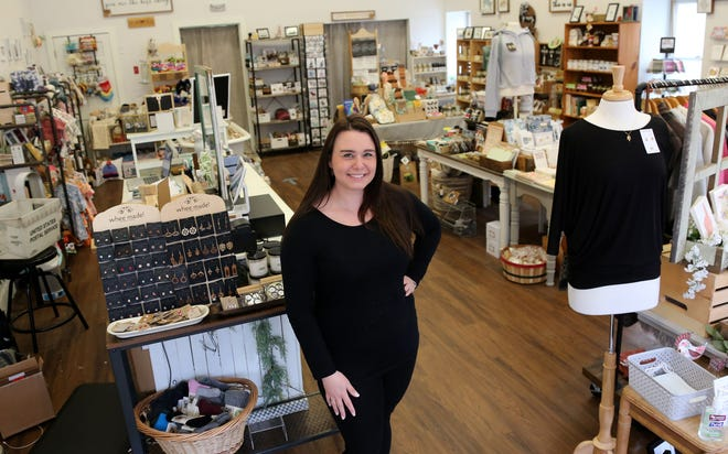 Roni Reino Watkins and her husband, Andy, owners of My Country Story in Dover, have learned how to manage their business smarter in the midst of the pandemic as they work with many local artisans.