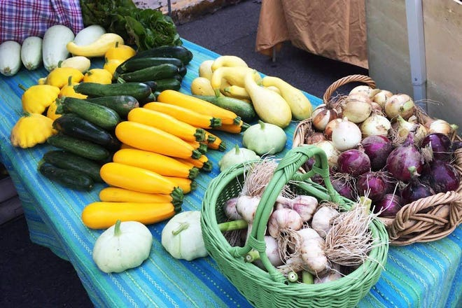 """The Monroe County Farmers' Market in Stroudsburg is the only location in the county that allows for a """"DoubleBucks"""" program. Recipients go to the market, cash in the amount of SNAP dollars they'd like to use, and get tokens worth twice that amount"""