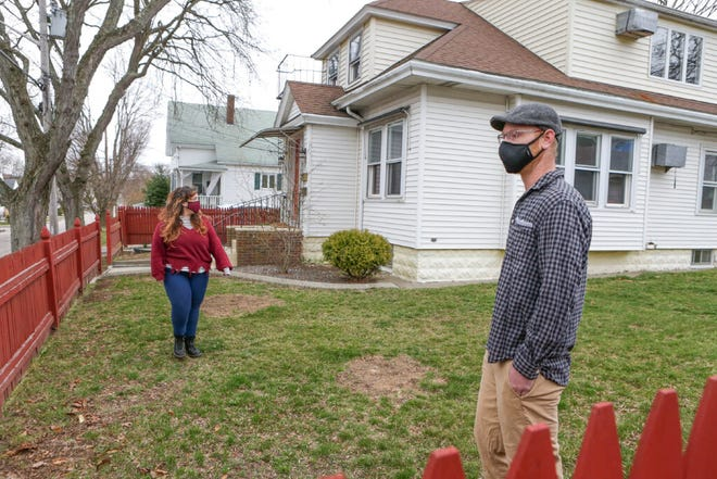 Bridget Duggan and her husband, Latham, found themselves swimming in the rough waters of the 2021 Rhode Island housing market last month, looking at about 30 houses before buying a two-family home in the Providence Mount Pleasant neighborhood at about $30,000 over the asking price.
