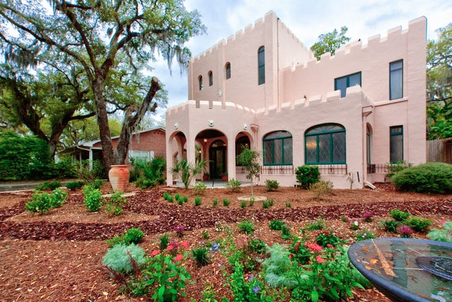 Berkshire HathawayHomeServicesFlorida Network Realty's listing at 16 May St.in St. Augustine, known as The Pink Castle, will be showcased in a special charitable event on May 1.