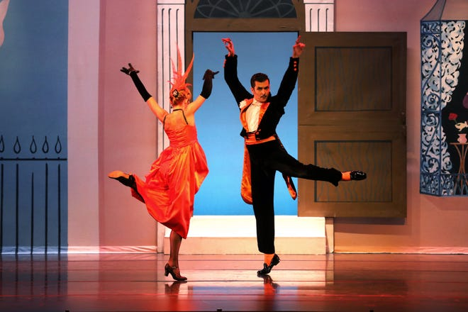 """Kate Honea and Ricardo Graziano dance in a scene from Sir Frederick Ashton's """"Facade,"""" featured in the latest digital program from The Sarasota Ballet."""