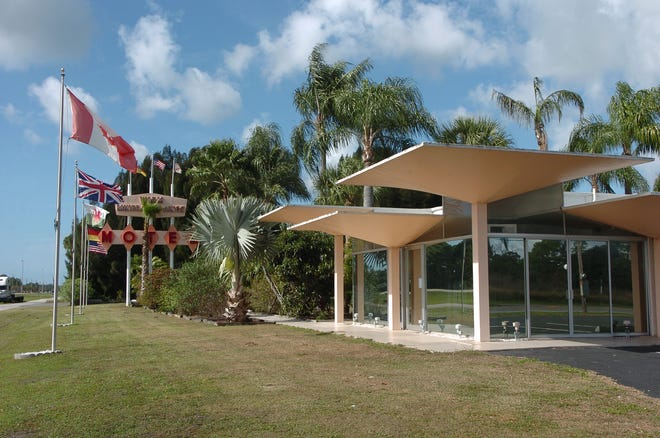 """The Warm Mineral Springs motel was designed circa 1958 by Victor Lundy, a leading figure of the """"Sarasota school"""" of midcentury modern architecture."""