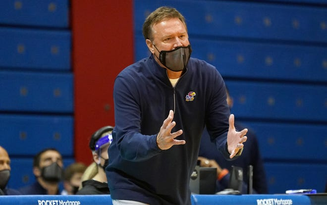 Bill Self talked about the strength of the 2021-22 team and NLI among other topics Monday.