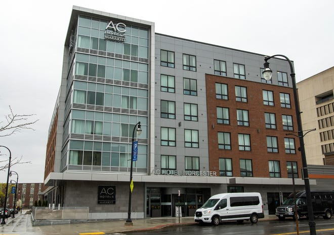 The AC Hotels Marriott on Front Street Thursday.