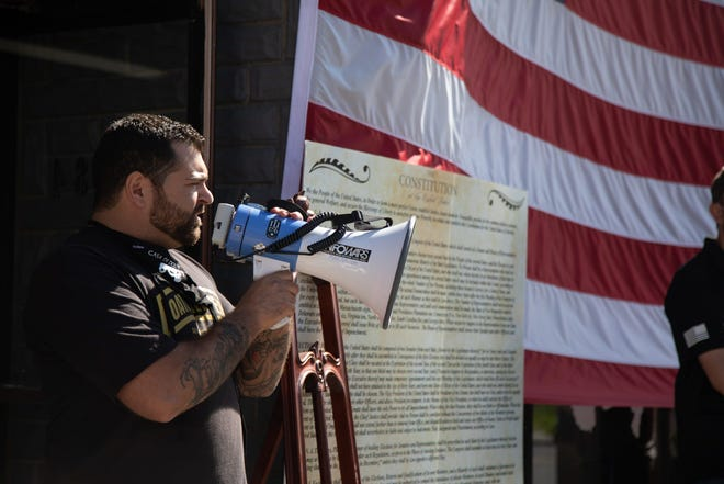Newburgh business owner Roberto Minuta was charged with conspiracy as a member of the Oath Keepers group that stormed the Capitol on Jan. 6