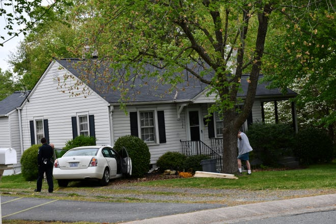 A car hit a house in Burlington Thursday morning, killing one person and injuring another.