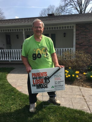 """The Tuscarawas County Anti-Drug Coalition recently launched its annual """"Parents Who Host Lose the Most"""" awareness campaign. Pictured: SDC Chair Kerry Metzger."""