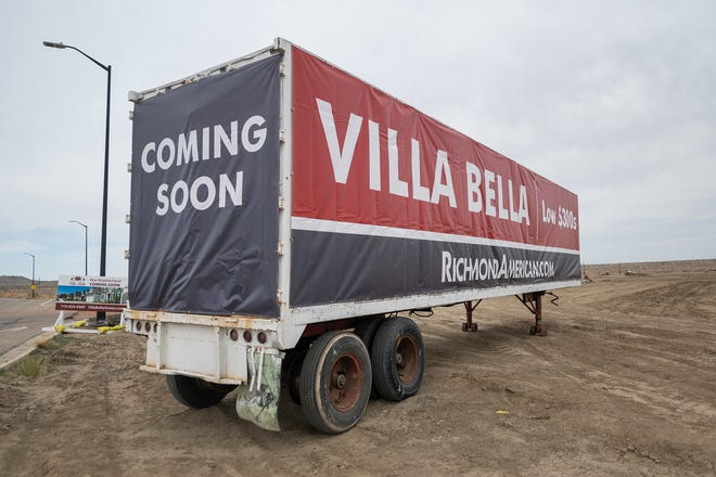 The Villa Bella neighborhood will be located to the east of Colorado State University Pueblo.