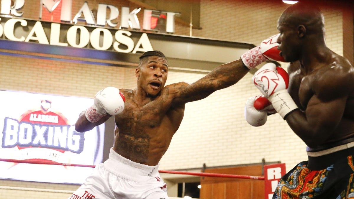A Tuscaloosa boxer is one win away from a world title shot, and it's not Deontay Wilder