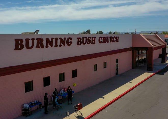 Burning Bush Baptist Church in Victorville.