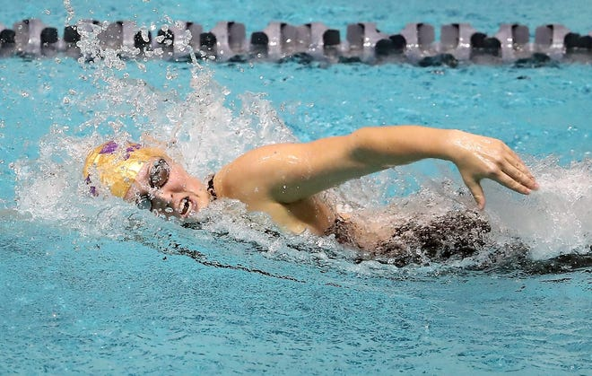 North Kitsap's Brianna Hoffman is a two-time Class 2A champion in the 200-yard freestyle.