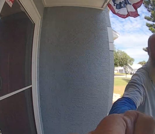 What's that, doorbell camera? Another package? For me?