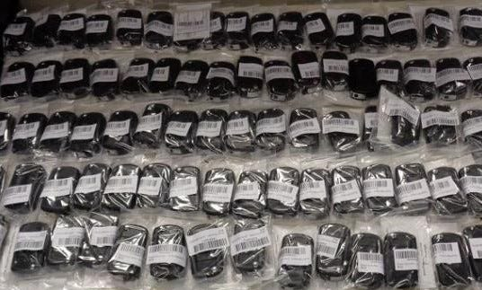 U.S. Customs and Border Protection officers in Cincinnati recently seized 1,196 counterfeit keys, key fobs, key fob covers and decals with bogus trademarks of vehicle manufacturers.