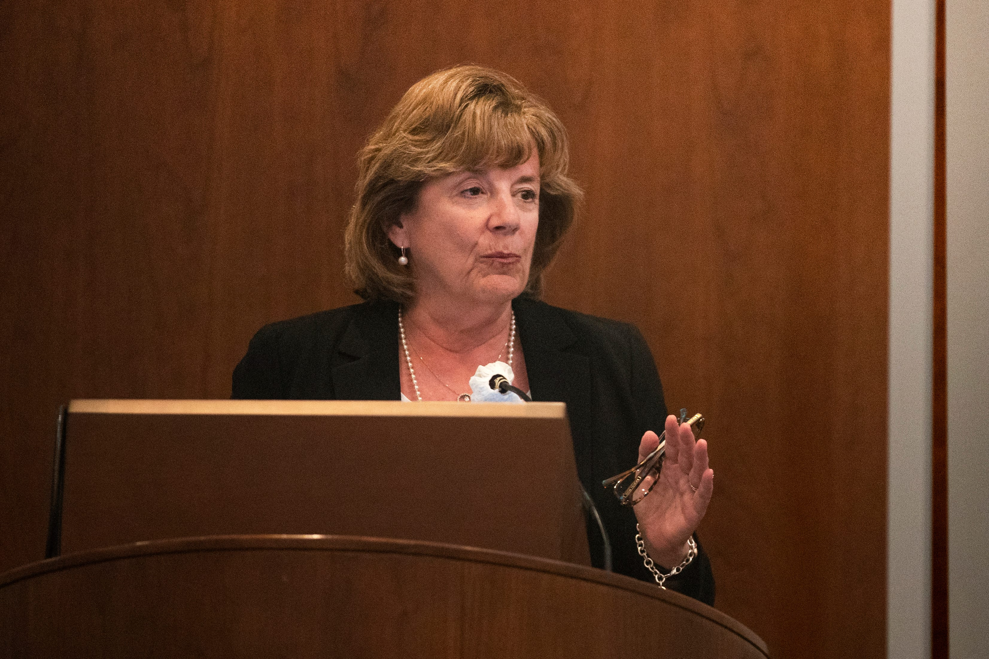 Watch: Barbara Wilson holds open candidate forums for next UI president