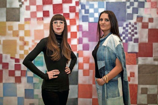 Bridget Finn and Terese Reyes of Corktown gallery Reyes Finn.