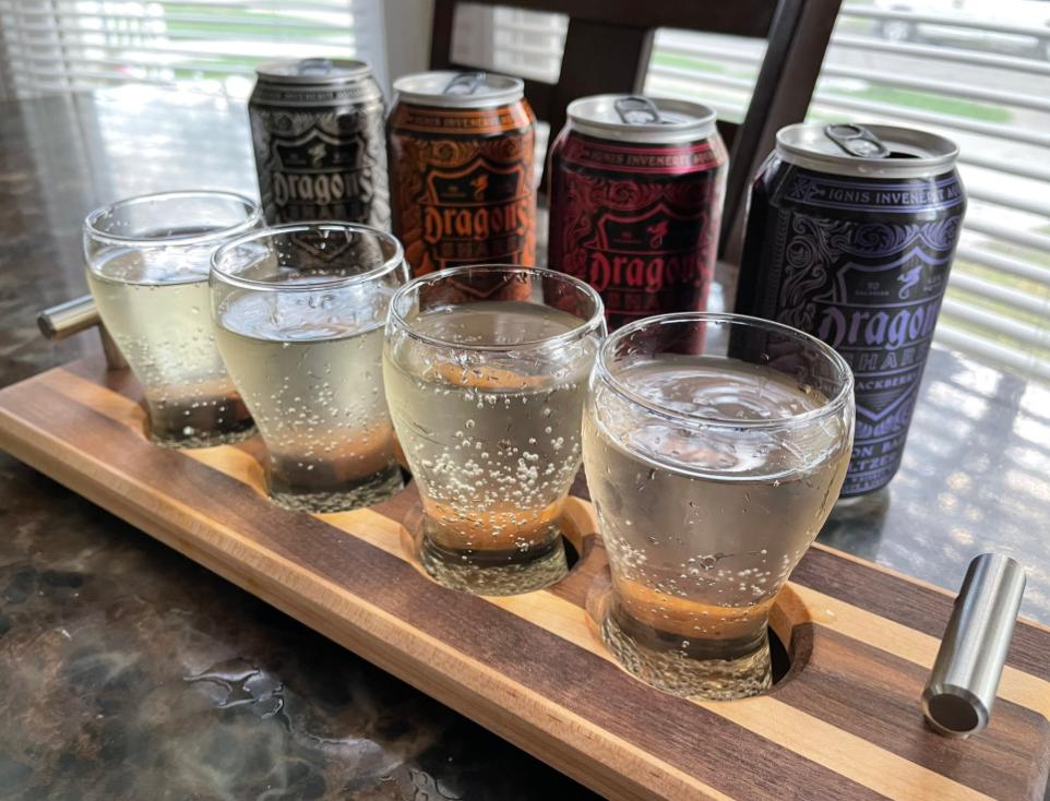 New Holland Brewing Co. bourbon barrel seltzer combines sweet bourbon taste with hard seltzer fruit notes
