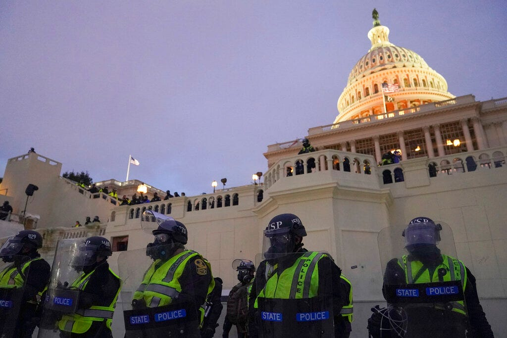"Capitol Police watchdog says force needs a ""culture change"" 1"