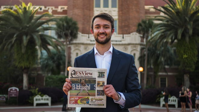Gary Putnik will be graduating Florida State with a bachelor's degree in Editing, Writing and Media and a minor in Communications.