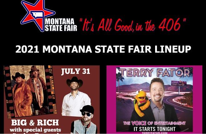 2021 Montana State Fair lineup announcement