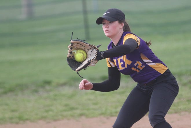 Lexington's Lilli Mattia led Lady Lex to a No. 1 overall seed in the Division II Willard District.