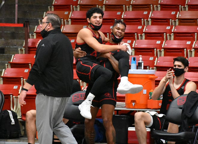 John Knight III and Dre Marin are both All-Conference players in the Big Sky. Both decided to comeback for one last shot at the NCAA Tournament.