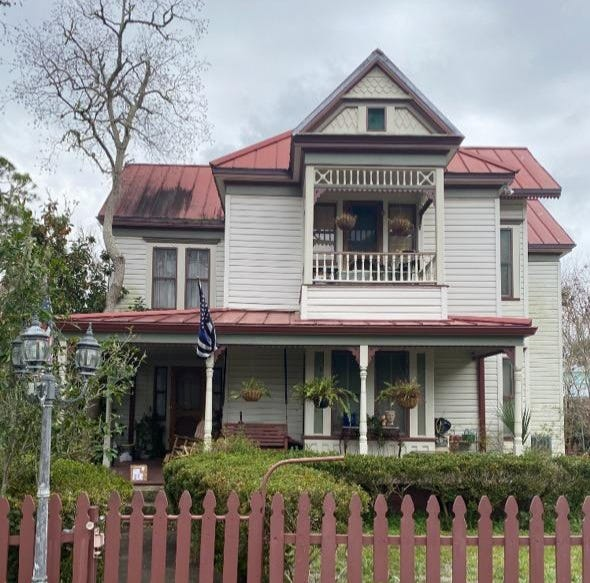 The house at 34 16th Street built in 1902 by William Lenholf Marshall in Apalachicola is one of 30 on the If This House Could Talk tour from May 2-15.
