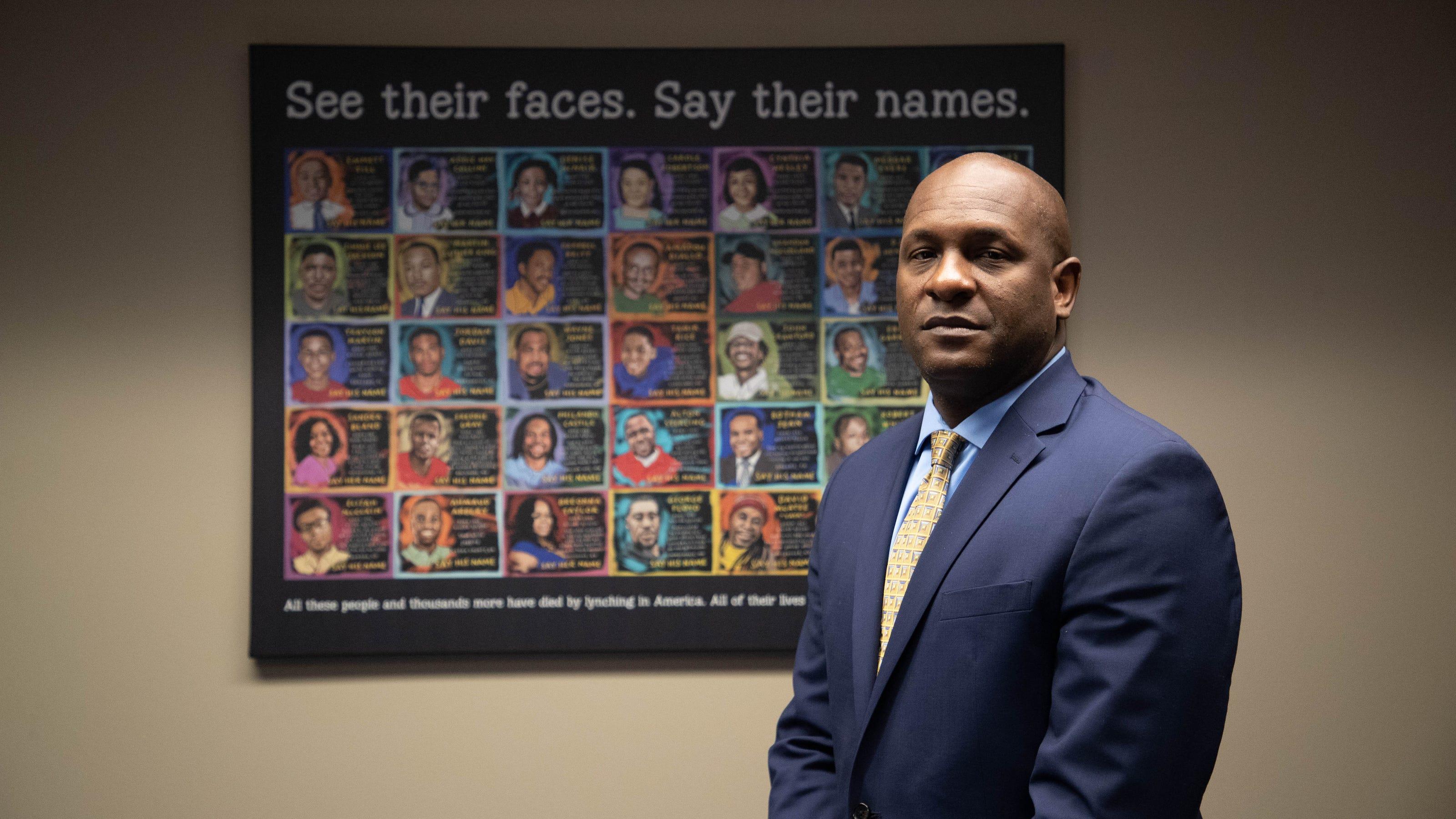 Art of George Floyd, other Black people killed, at Florida ...