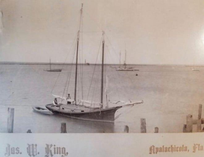 The schooner Grace in Apalachicola