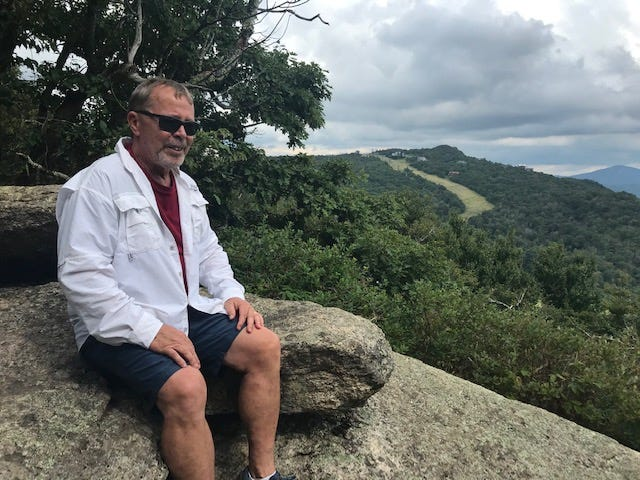 Gregg Patterson sorts out his pandemic feelings in the mountains.