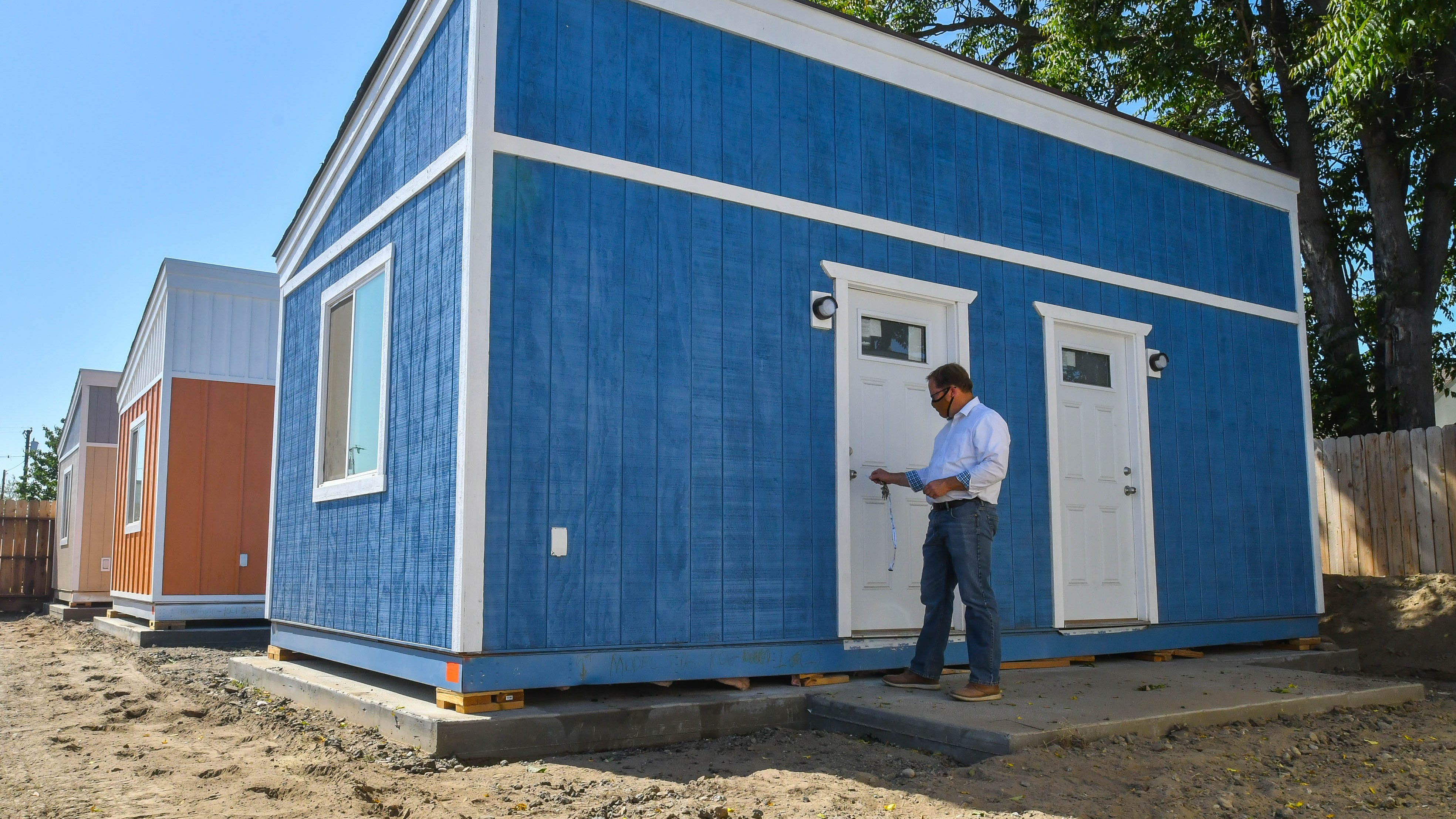 Tulare Lighthouse Rescue Mission is constructing a homeless village