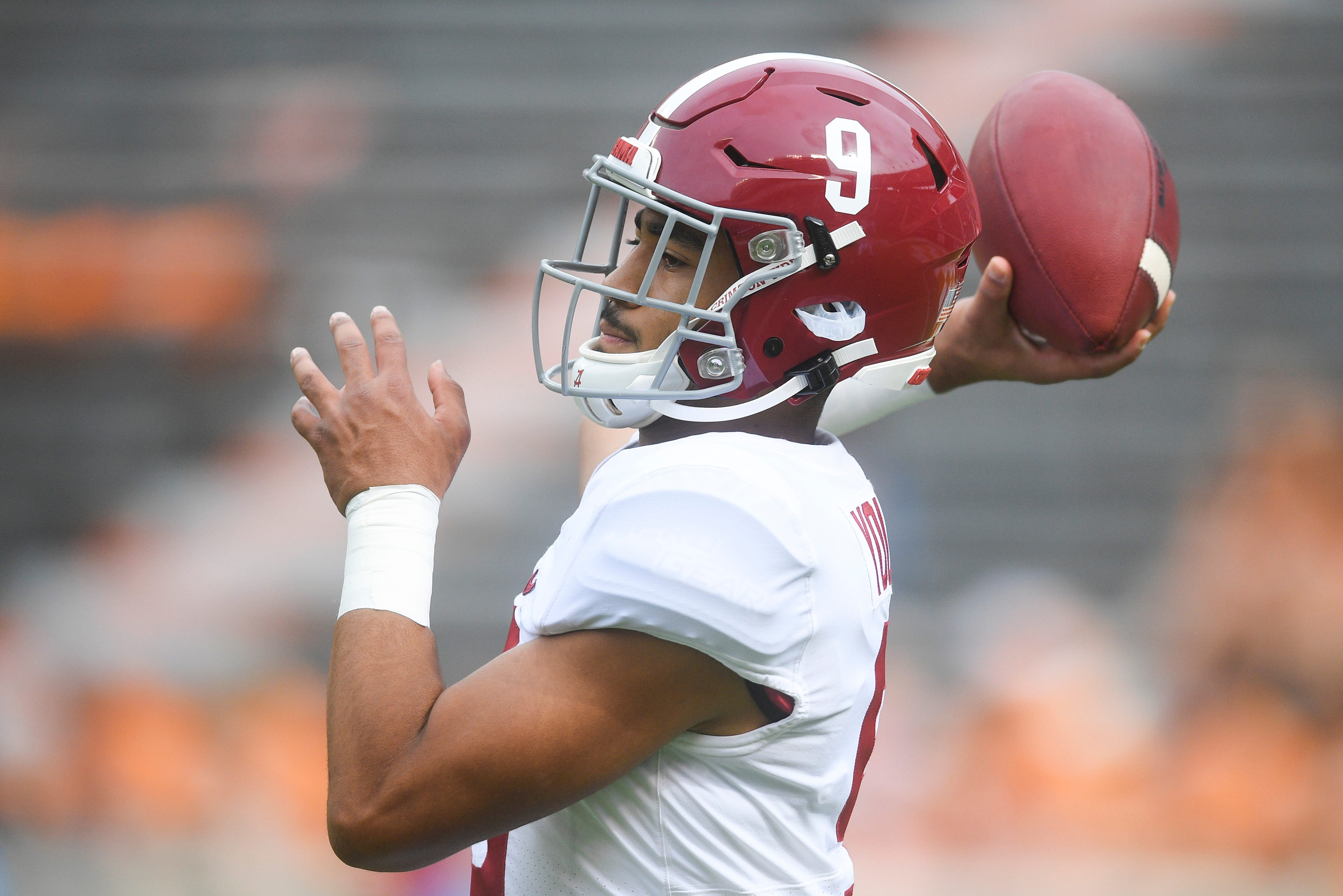 Alabama QB Bryce Young is a true sophomore whose first season on campus came against the backdrop of the pandemic, making it difficult to assess his development since enrolling last winter.