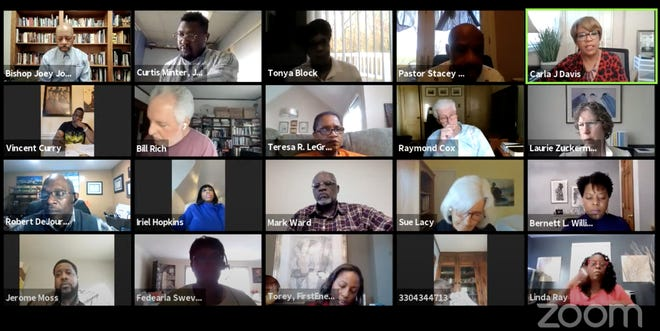 The city of Akron's Racial Equity and Social Justice Task Force convened on April 13 to discuss its subcommittees' preliminary findings.