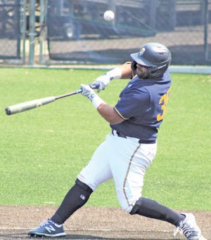 Danny Perez putting together his most powerful offensive season for Oklahoma Wesleyan University. The robust senior slugger opted to use the extra year of eligibility offered by the NAIA.