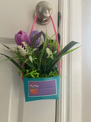 Family HealthCare Clinic is selling Bloomin' Baskets for people to share with friends and neighbors in celebration of May Day.