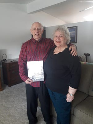 Don and Kay Bohls of Cheboygan recently reached out to the local Rosie the Riveter Chapter to see if the group was interested in a book they had about pin-up models and the aircraft used during World War II. This lead to a conversation about the great work the couple has been doing in the community.