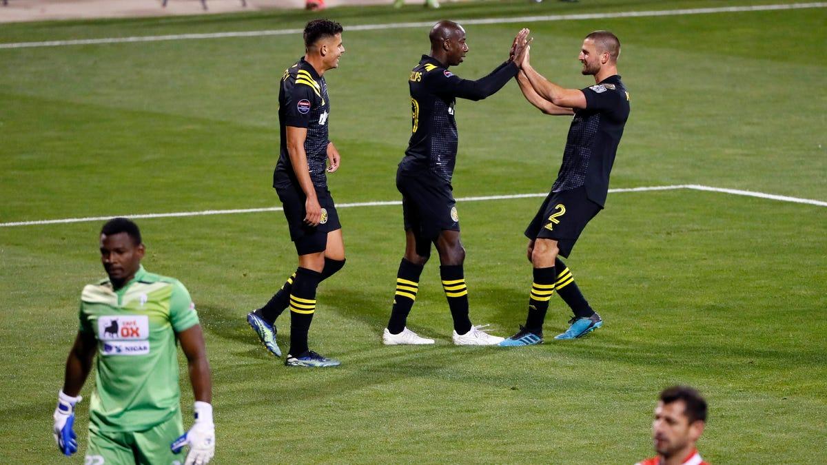 Takeaways: Crew advances to Champions League quarterfinals, but Morris injury 'looks bad'