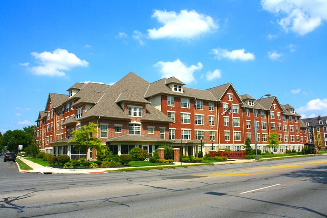Residents at Jenkins Terrace (pictured above), a rental property managed by the Columbus Metropolitan Housing Authority that serves senior citizens, will begin receiving free broadband through a collaboration between the CMHA and Charter Communications.