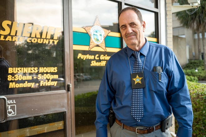 Detective Dan Conlee works at the Lake County Sheriff's Office in Tavares. He returned to duty to work on cold cases. [Cindy Peterson/Correspondent]