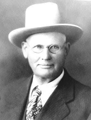 """D. Welborn """"Doc"""" Barton herded cattle through Dodge City in the 1870s and became Gray County Sheriff in 1889."""