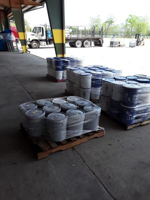The Ascension Parish Hazardous Materials Collection event set a record this year.