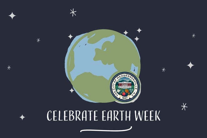 In celebration of Earth Week from April 18-24, the city of Hendersonville and its Environmental Sustainability Board are promoting earth-friendly activities and events around the community.